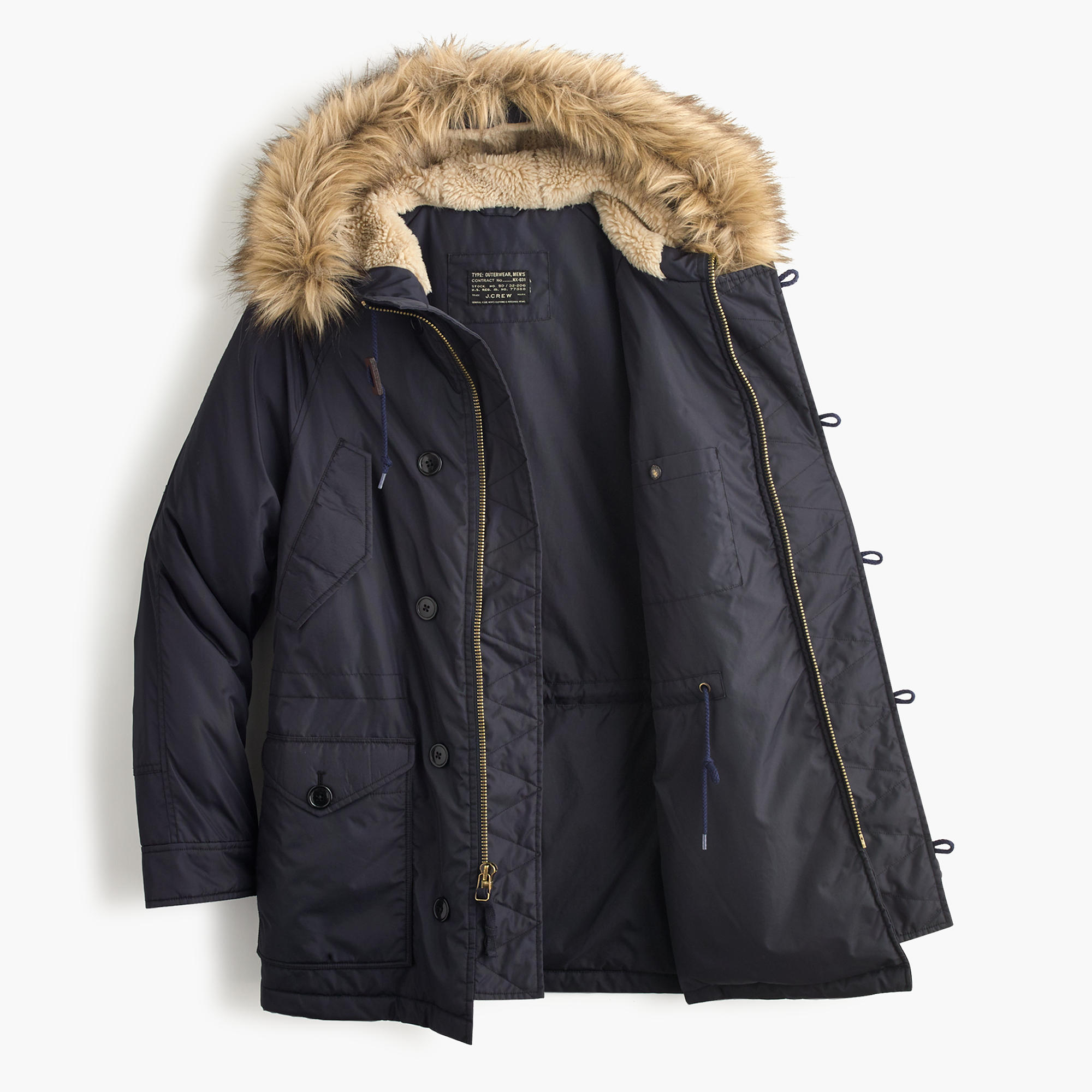 Snorkel jacket : Men down | J.Crew
