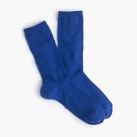 Fine ribbed trouser socks