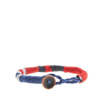 Kids' multistripe rope bracelet