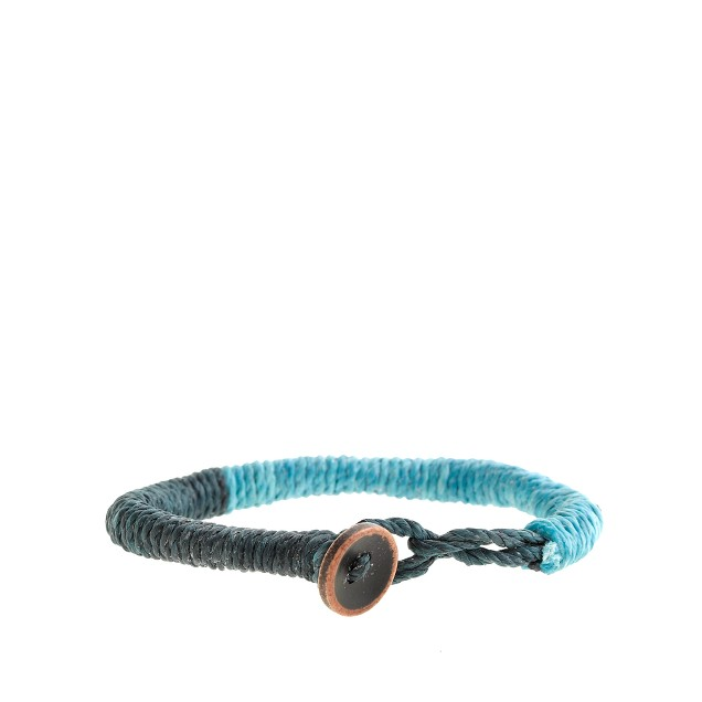 Kids' two-tone rope bracelet