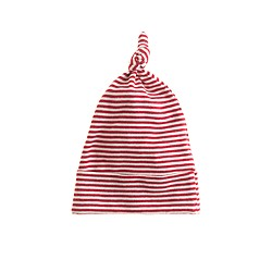Nature Baby® for J.Crew knotted beanie in thin stripe