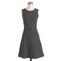 Paneled stripe dress