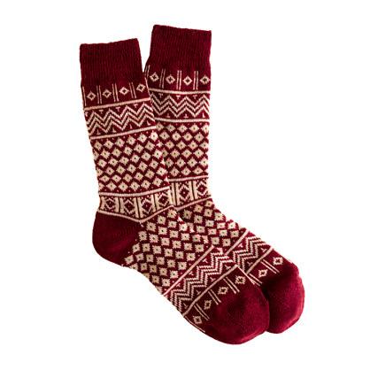 Anonymous Ism zigzag socks