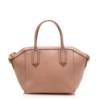 Tartine mini-satchel in pebbled leather