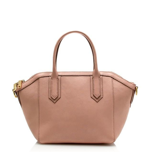 Tartine mini-satchel in pebbled leather