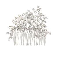 Scattered petals crystal comb