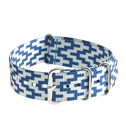 Patterned watch strap