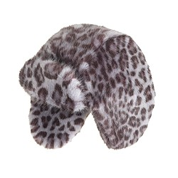 Girls' fur trapper hat