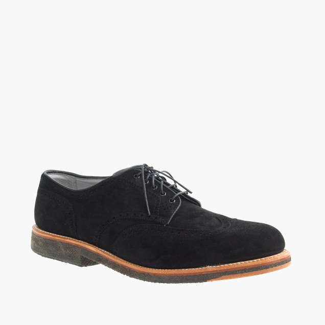 Alden® for J.Crew suede wing tips