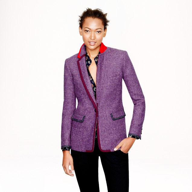 Collection Rylan blazer in Harris Tweed wool