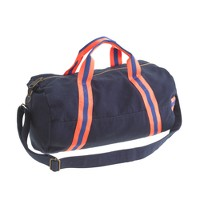Kids' canvas duffel bag