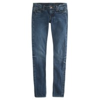 Tall matchstick jean in harbor wash selvedge