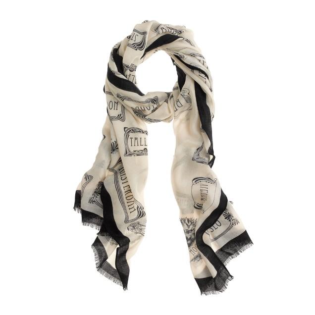 Nouveau city scarf