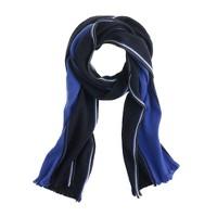 Tricolor stripe scarf