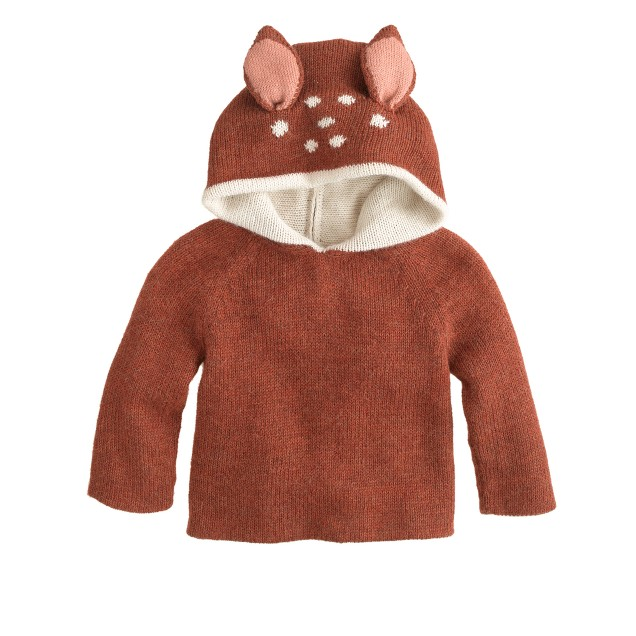 Baby Oeuf® bambi reversible hoodie
