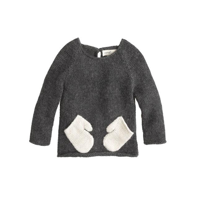 Baby Oeuf® hug me sweater