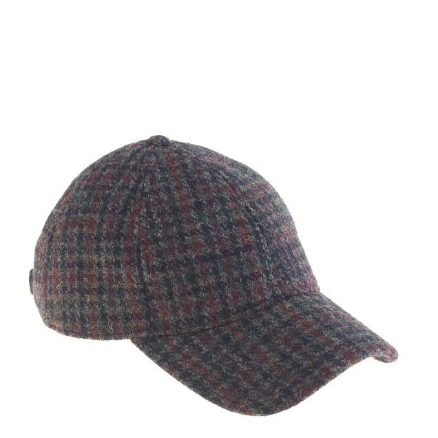 Houndstooth baseball cap