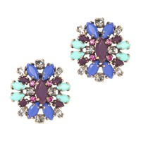 Crystal shimmer earrings