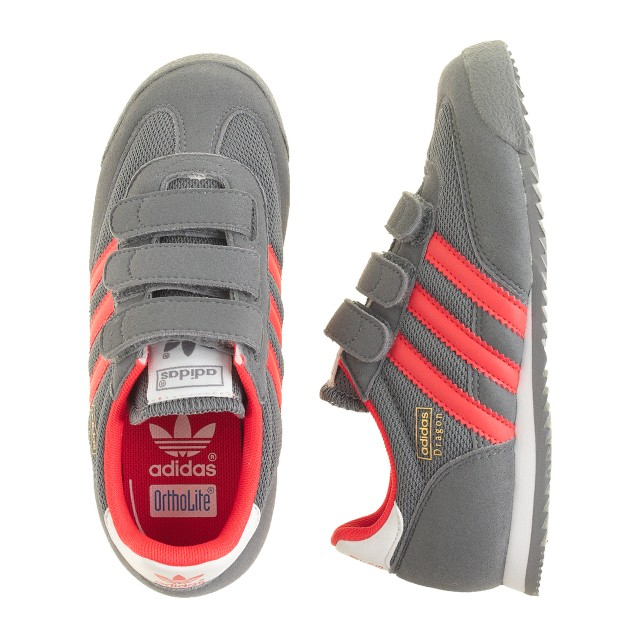 Boys' Adidas® Dragon sneakers in grey
