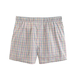 Boxers in multicolor tattersall