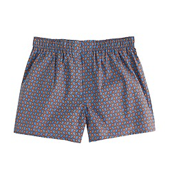 Boxers in amalfi blue paisley