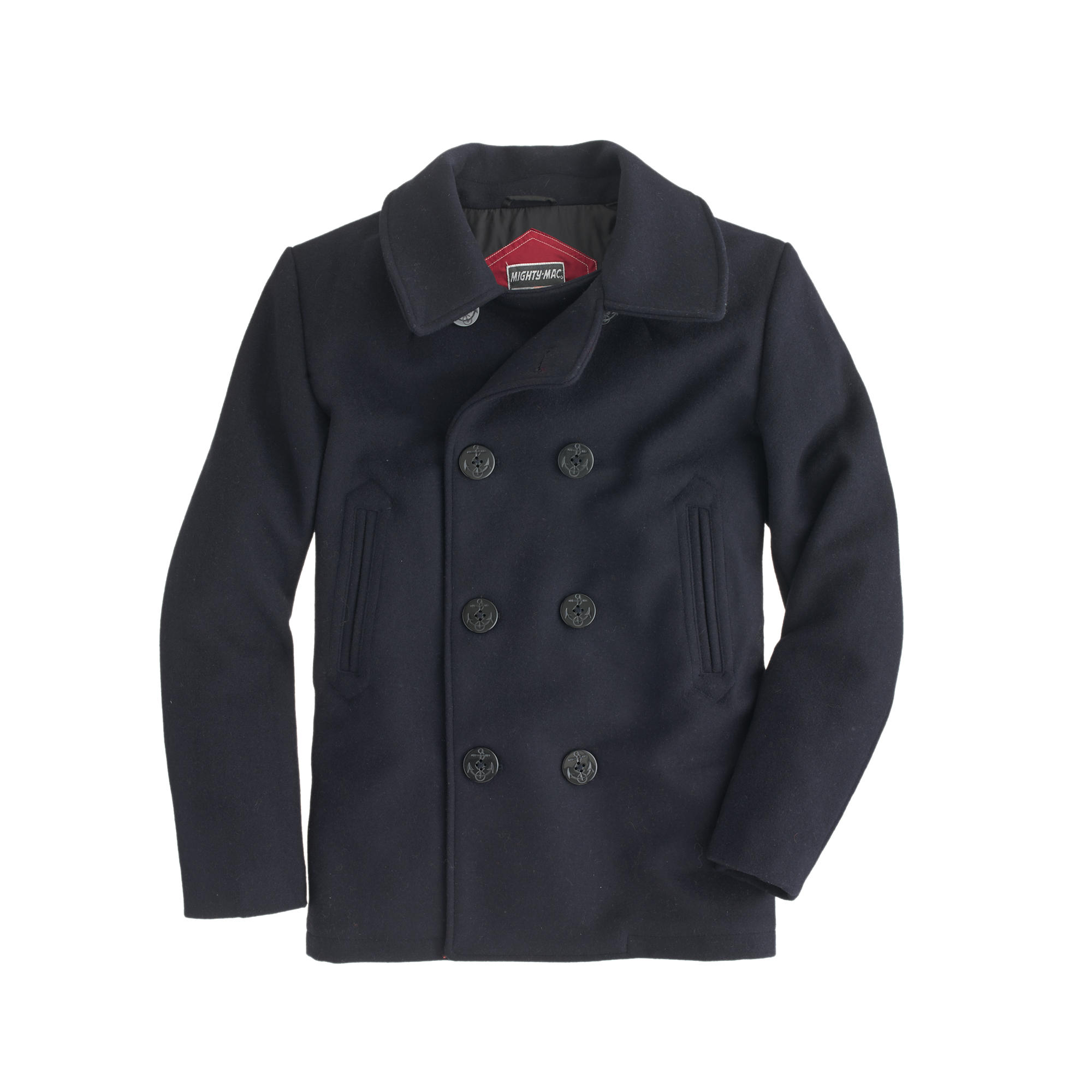 Boys&39 Mighty-Mac® peacoat : | J.Crew
