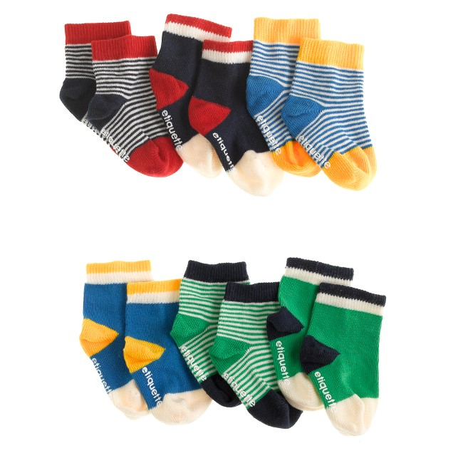 Baby Etiquette Clothiers® sock set
