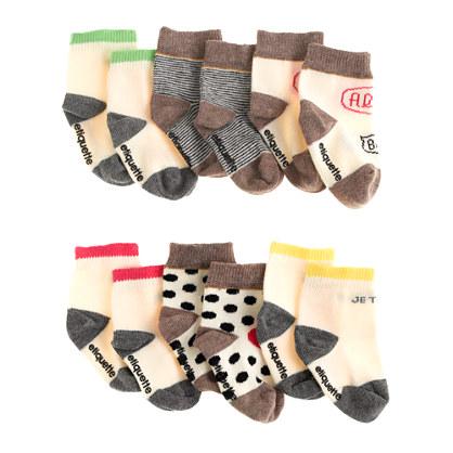 Baby Etiquette Clothiers® X Atsuyo Et Akiko® sock set