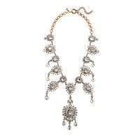 Grande crystal drops statement necklace