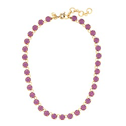Swarovski crystal dot necklace