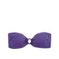 Two-tone ring stripe bandeau