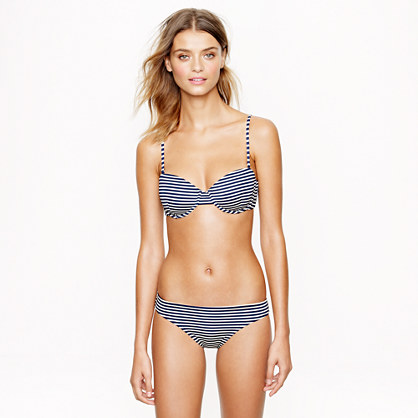 Stripe underwire top