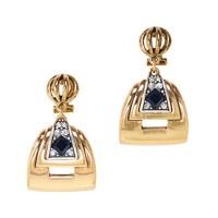 Lulu Frost solar earrings