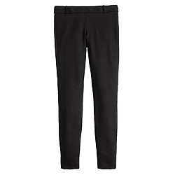 Full-length Minnie pant in bi-stretch wool
