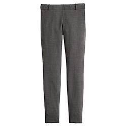 Petite full-length Minnie pant in bi-stretch wool