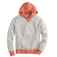 Contrast colorblock hoodie