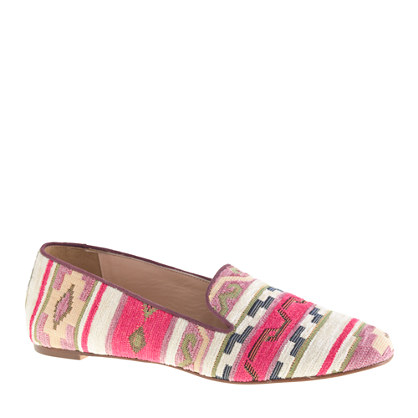 Darby fabric loafers