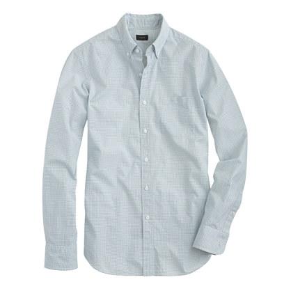Secret Wash shirt in mini-grid