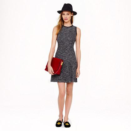 Tweed flare dress