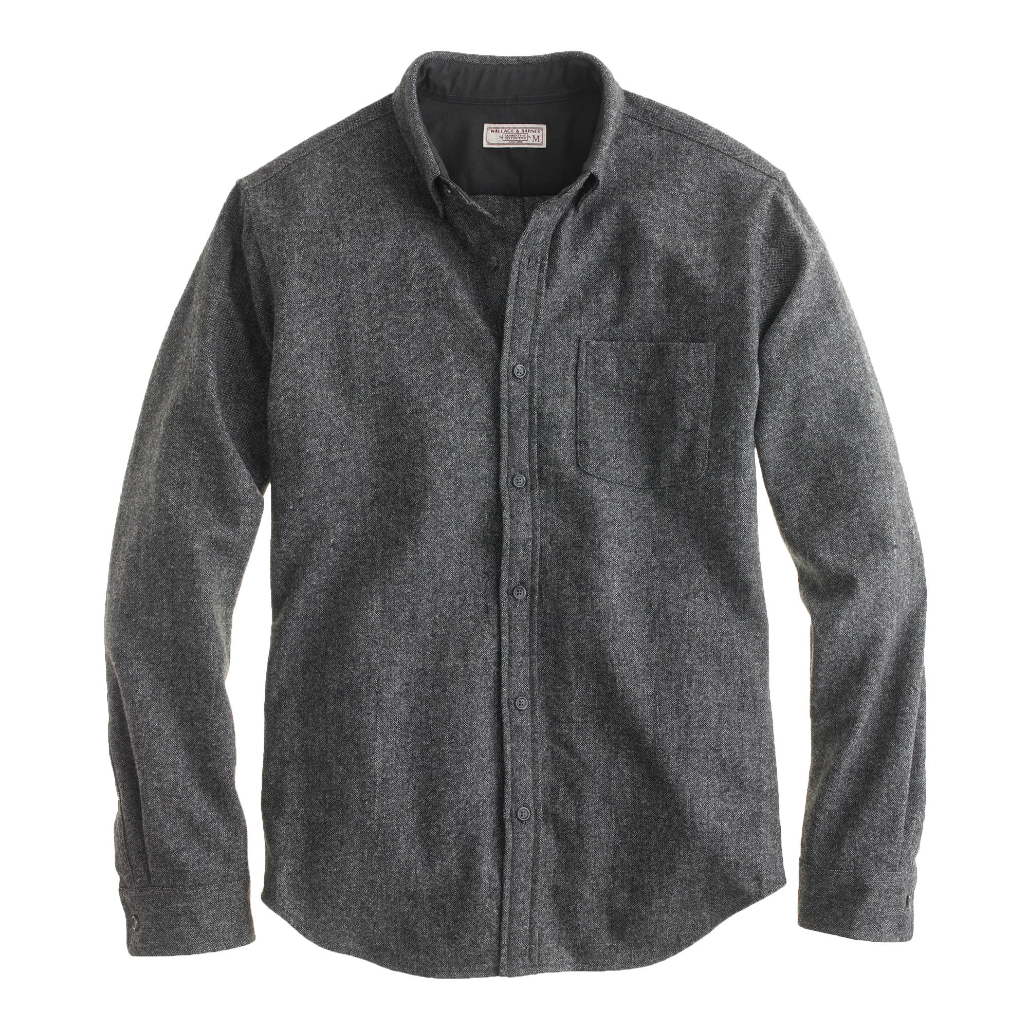 wallace barnes donegal wool shirt j crew