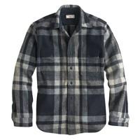 Wallace & Barnes plaid CPO shirt-jacket