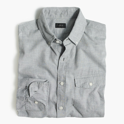 Brushed twill shirt