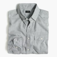 Tall brushed twill shirt