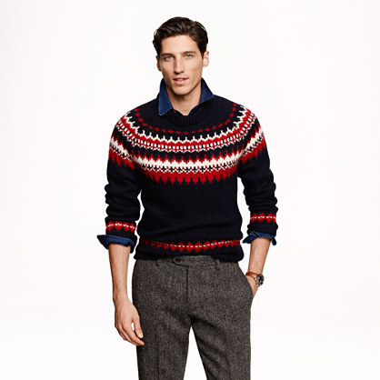 Ramsay Fair Isle sweater