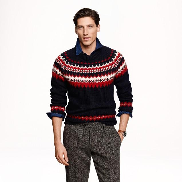 Ramsay Fair Isle sweater