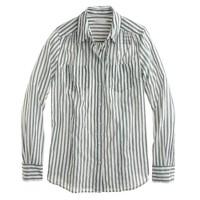 Crinkle stripe shirt