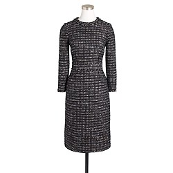 Collection black tweed dress