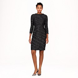 Collection black tweed dress
