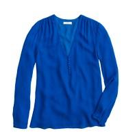 Silk georgette blouse
