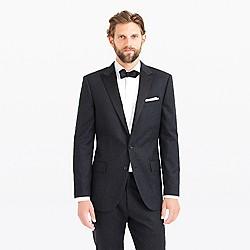 Ludlow tuxedo jacket in Italian wool flannel